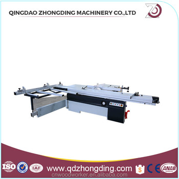 length 3.2m sliding table woodworking table saw for PVC board