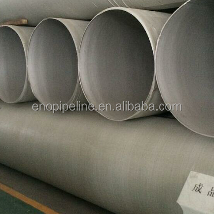 thick wall SSAW welded quality stainless steel hollow products