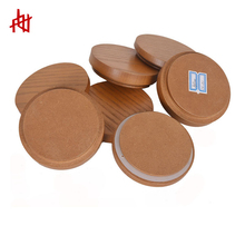 Top sale delicate wooden lid for plastic cosmetic jar cover candle lids glass cup cap reed diffuser screw caps