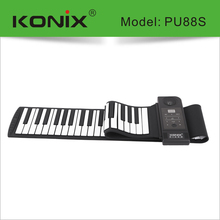 88 Keys roll up piano usb piano keyboard for pc laptop keyboard piano