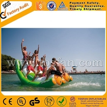 Double lane inflatable water totter A9015B