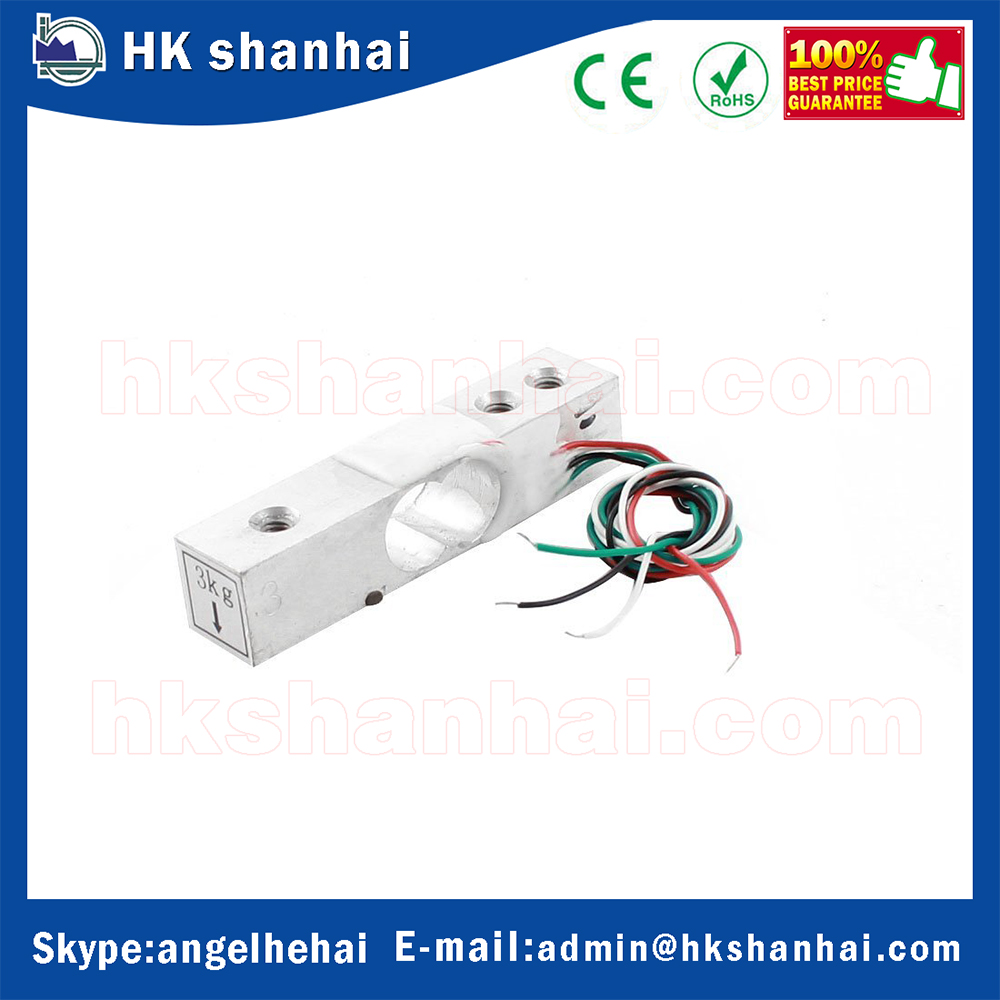 2016 wholesale scale electronic 5kg 2kg 3kg load cell sensor miniature Load Cell for low cost pressure sensor YZC-131 3 hole