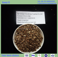 2016 spot supply cheap expanded crude exfoliated heat-resistant vermiculite for gardening from China supplier in hebei province