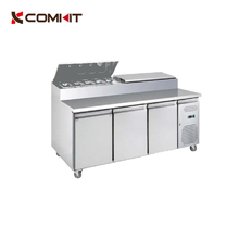 CE approved CK-SH3000/700 Stainless Steel Sandwich Counter / Commercial Sandwich Counter