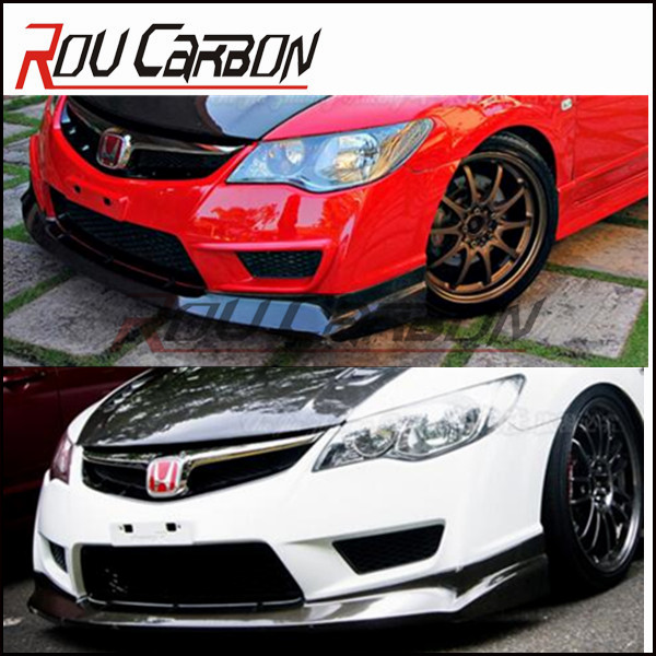 Carbon Front lip For honda carbon Lip for civic Fd2 body kits