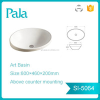 Chaozhou High Quality sanitaryware Basin art washing basin