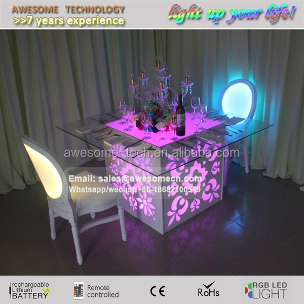 modern luxury dinning room table set