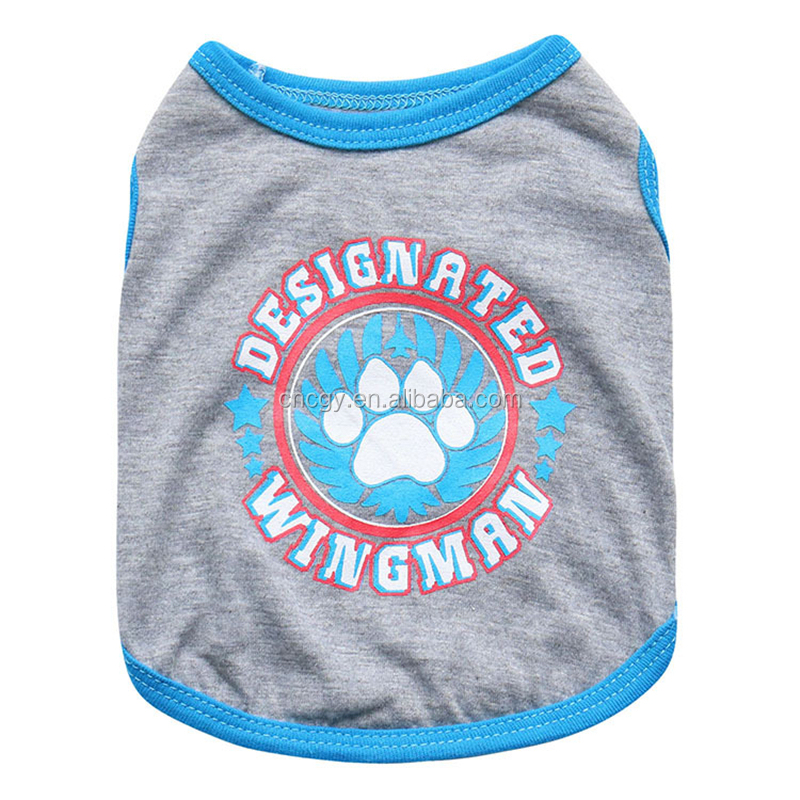 Pet clothing wholesale new small dogs cotton vest Pets clothes display