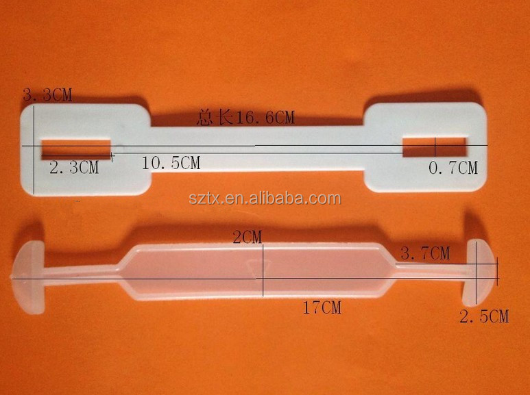 17*3.3cm plastic box <strong>handle</strong> for assembling carton box