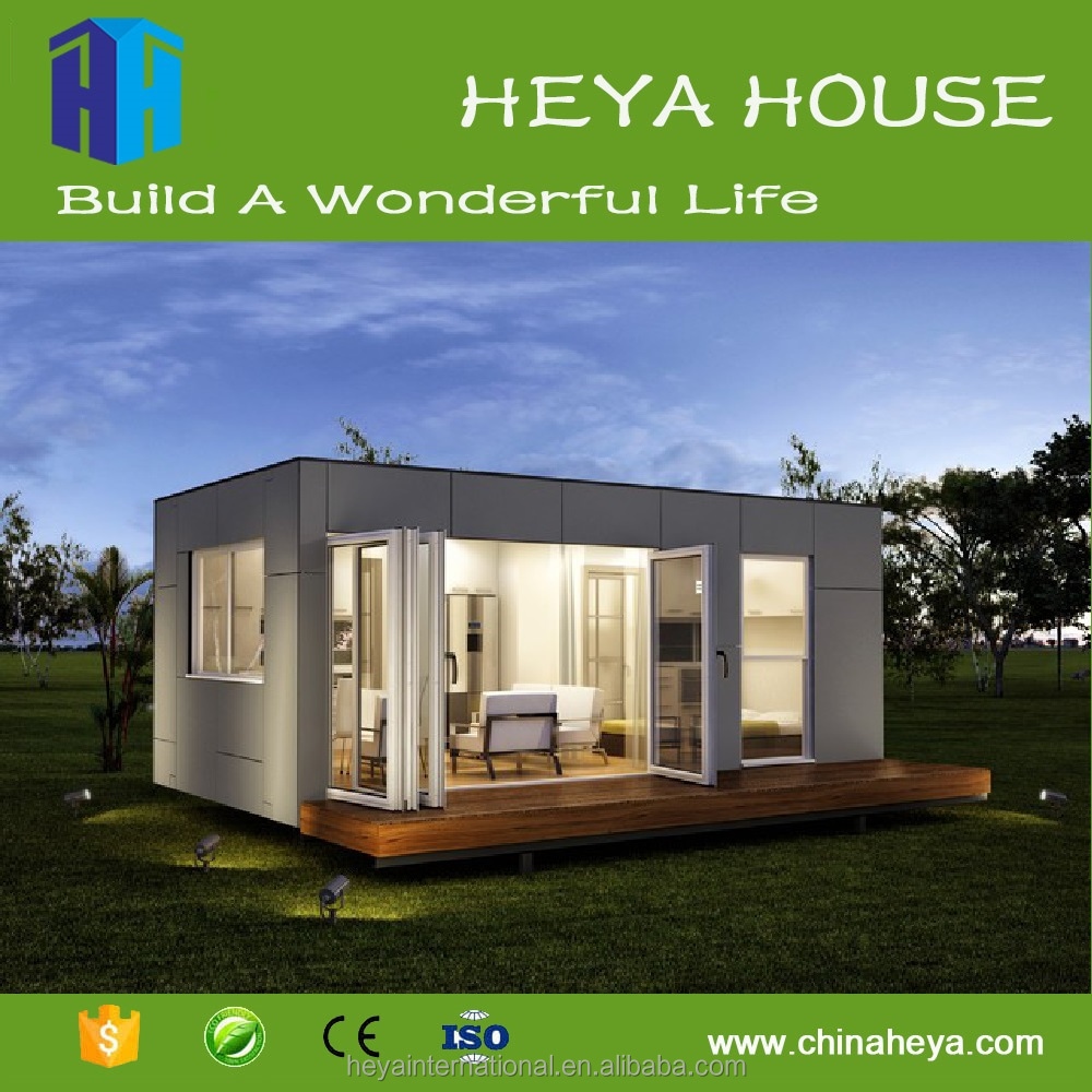 Eco flatpack containerized prefab house in cyprus