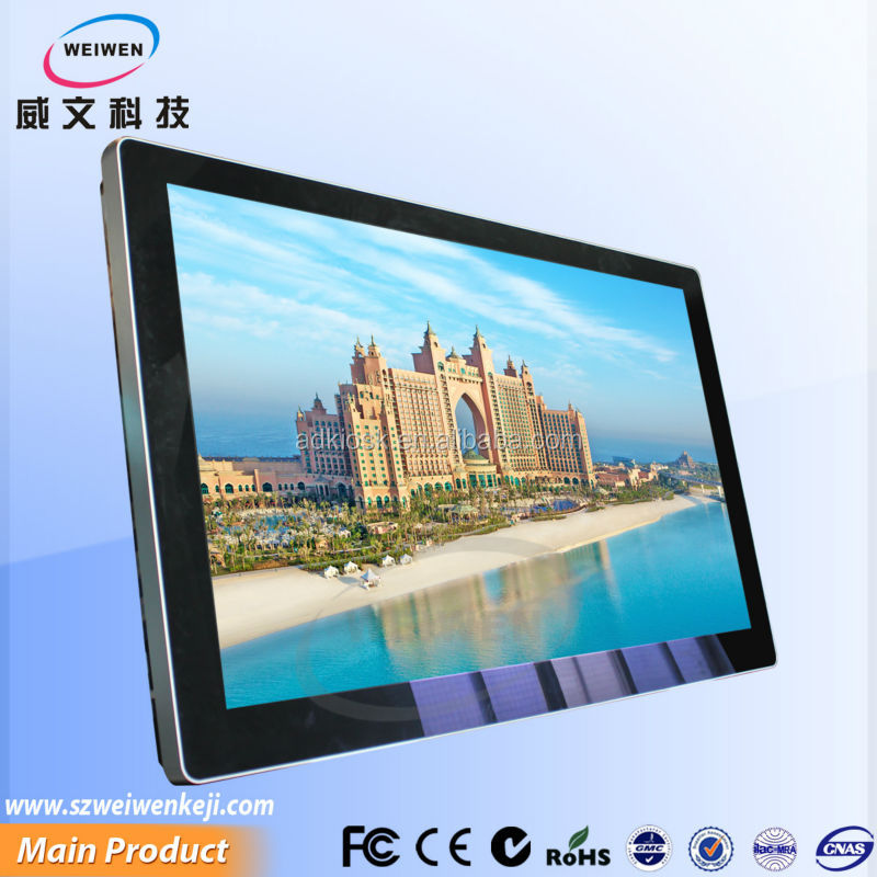 lcd advertising display media player 42 inch lcd tv screen