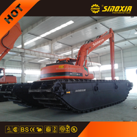 china amphibious excavator for two use SX400SD