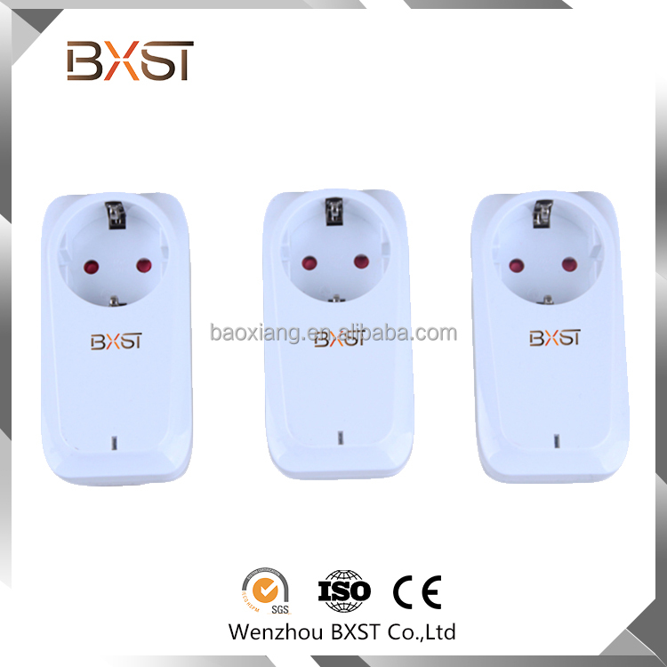 Custom non-grounding remote control socket outlet,PC Fireproof wireless digital remote control socket