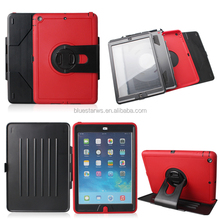 With Back Stand PC+Silicone Combo Flip Case Cover For ipad Air