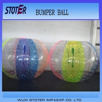 2015 Popular and Crazy human bubble ball , inflatable body zorb ball