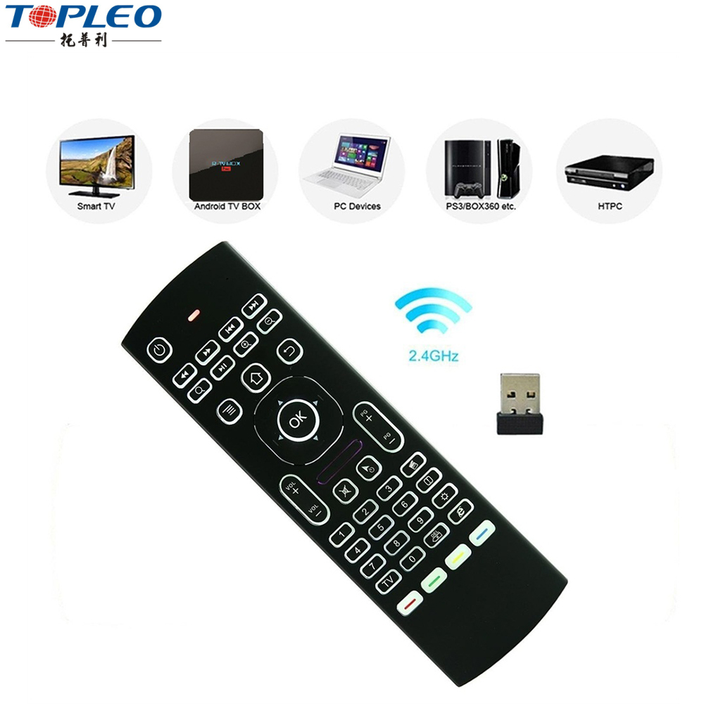 MX3 2.4Ghz Fly Mouse Keyboard Remote Control for Samsung Smart TV