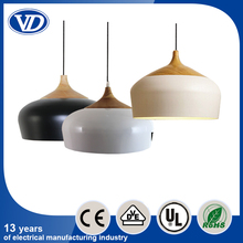 Modern simple aluminum pendant light for restaurant and living room