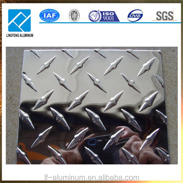 wholesale price diamond aluminIum checkered sheet plate