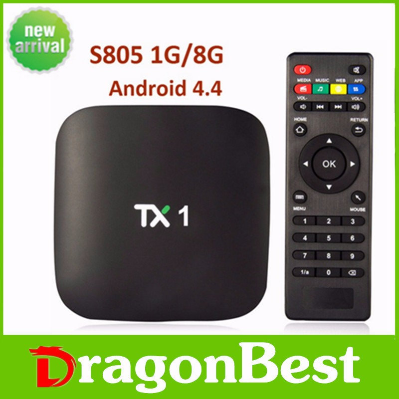 Best things to sell android tv box Quad-Core 1 GB/8 GB Smart Tv DLNA 1080P TX1 TV BOX