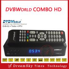 DVBWORLD COMBO HD Digital Satellite TV Receiver DVB-S2+TURBO Support IPTV with turbo 8psk JB200 for North America