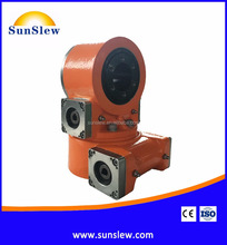 dual axis slewing drive for solar tracking system
