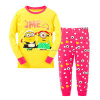 TF-05151005003 despicable me minion pijamas minion pyjamas 2-7 years kids