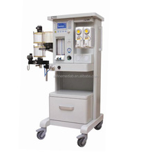 Tidal Volume 0~2000ml Double Pots, O2/N2O/AIR, 0.28MPa~0.6MPa, Anesthesia Machine