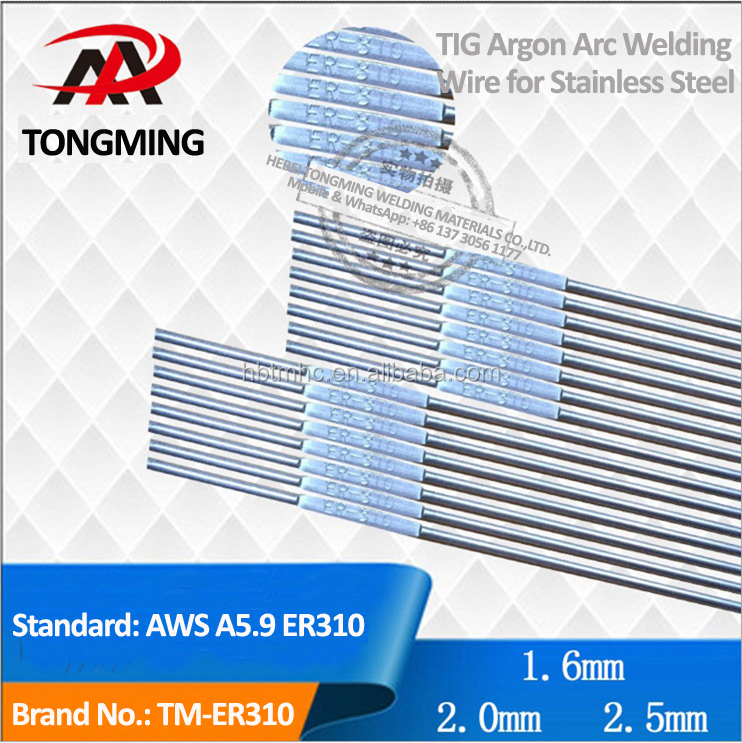 TIG Argon Arc Welding Wire for stainless steel, AWS A5.9 ER310, TM-ER310
