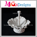 OEM Elegant Latest Flower Design Porcelain Ring Holder