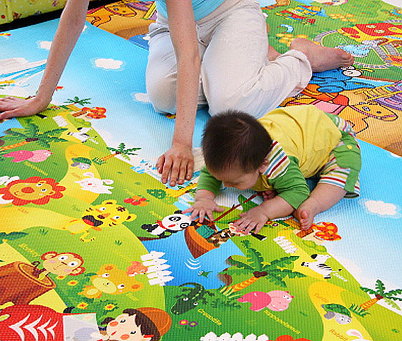 Thickness Baby waterproof baby play floor mat Forest Pattern SV010373