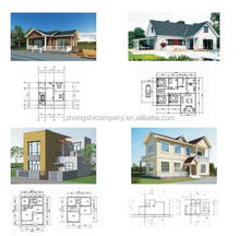 prefabricated flat light steel structure house factory price telephone house