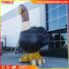2016 Hot sale Giant Inflatable turkey for Thanksgiving Day, advertising inflatable turkey