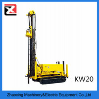 china hydraulic crawler rotary air compressor water well drilling machine