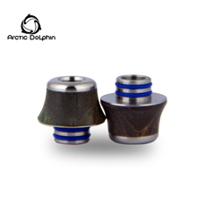 Hot selling e-ciga stabilized wood 510 drip tip for big vapor wholesale from Arctic Dolphin Company