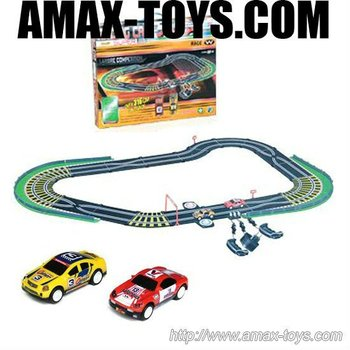 sc-13824ad high quality interesting mini car racing track for kids