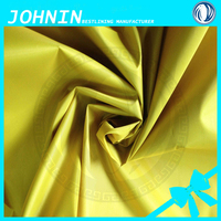 water proof taffeta fabric for umbrella Shaoxing Polyester Silver Coating 190T Taffeta Fabric Textile