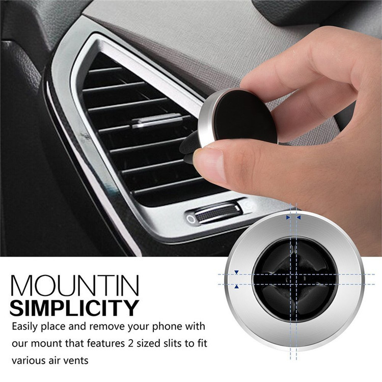 Best Product 360 Degree Rotation Magnetic Phone Holder Air Vent Mobile Phone Car Holder
