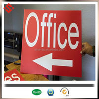 costomized plastic sheets yard sign corrugated PP sheet sign board