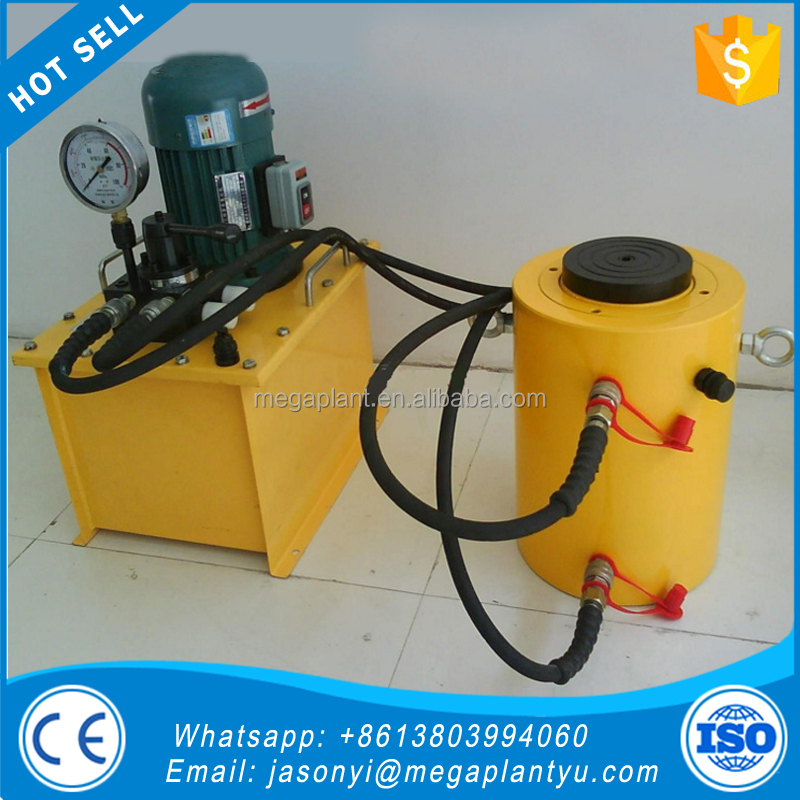 High quality professional 100T 200T bridge building lift tools acting single cylinder hydraulic jacks