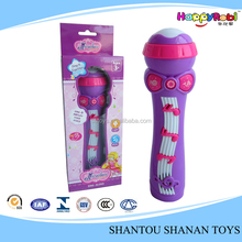 Musical happy kid toy mini microphone with multifunction