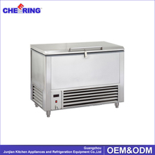 portable stainless steel frozen deep chest freezer for sea fish