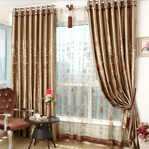 new designs the shading Chinese everyone fabric curtain