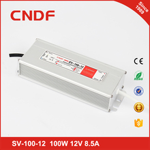 Professional manufacturer 220 single output dc 12volt power supply 100w led driver for outdoors led street light