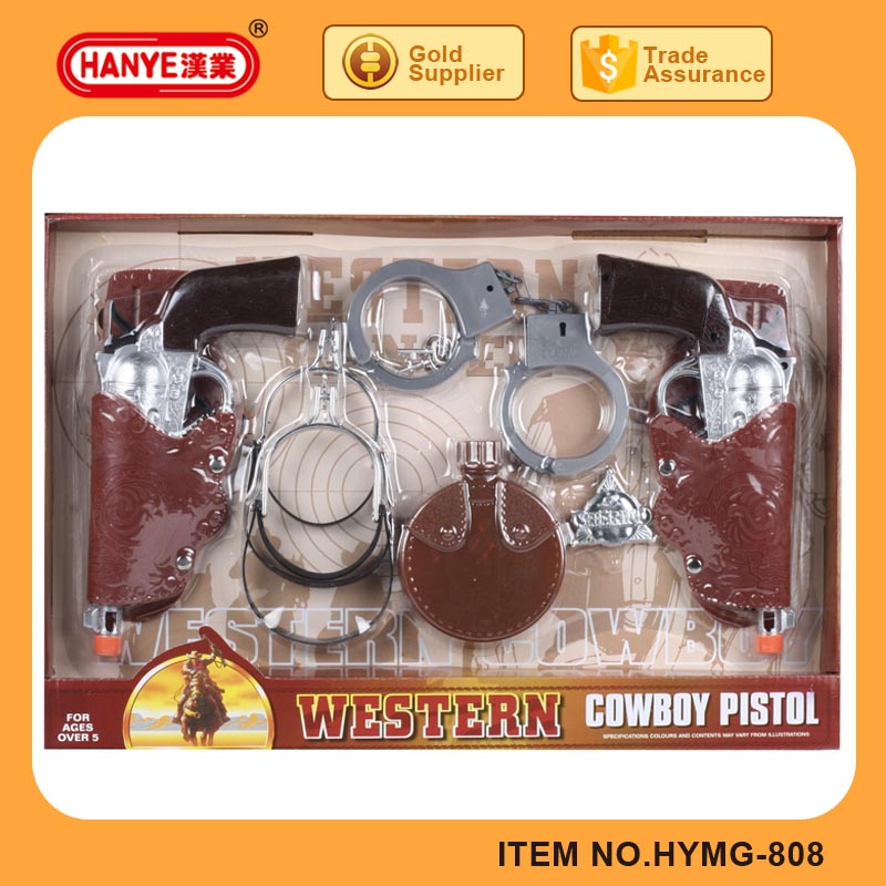 Top quality western cowboy gun toys sets for kids