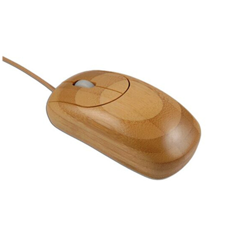 2017 Hot Selling High Quality Cheap USB wooden mouse