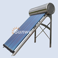 Stainless Steel Compact Pressure Solar Water Heater