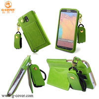 PU leather cover for samsung Galaxy note 3 3d mobile phone cover for iphone /samsung