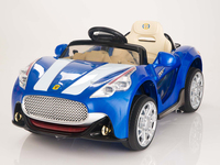 Child electric car with 12V Maserati Style Ride On Car With Remote & MP3 Blue