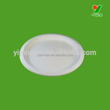 High quality disposable biodegradable bagasse 8 inch paper plate