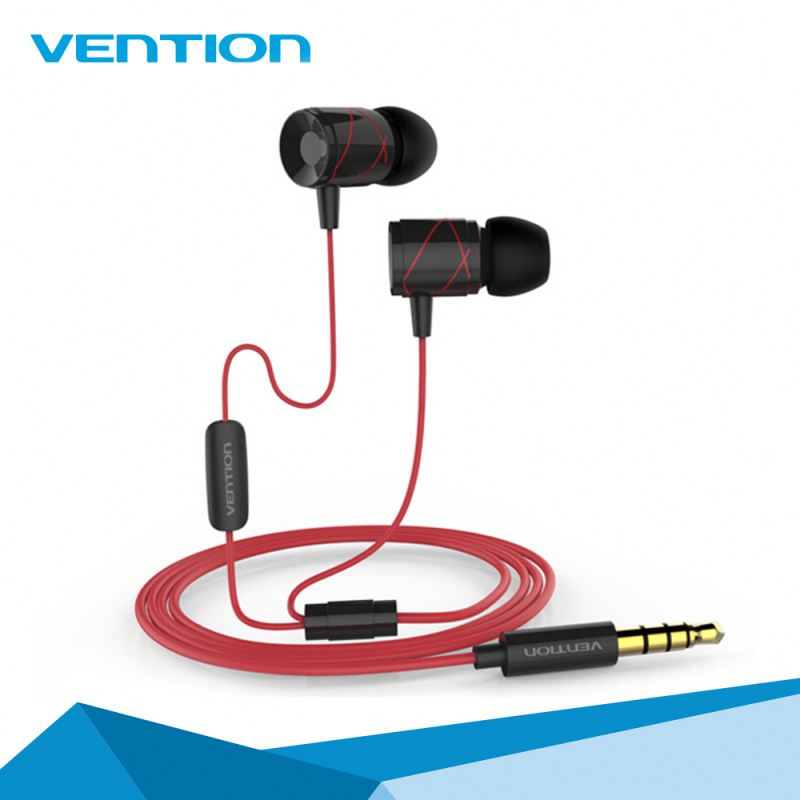 Vention High Quality Cheap Earphone With MIC For Mobile Phones